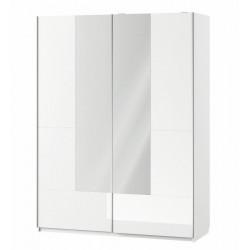 Šatní skříň 2-dveřová se zrcadlem SELENE 30