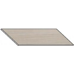 Kuchyňská pracovní deska 260 cm bílá borovice