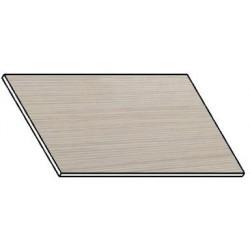 Kuchyňská pracovní deska 40 cm bílá borovice