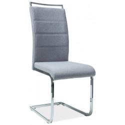 Jídelní čalouněná židle H-441 šedá látka