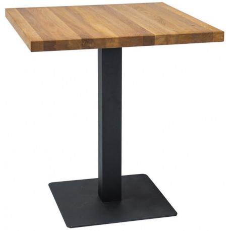 Jídelní stůl PURO dub masiv 60x60 cm