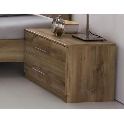 Noční stolek PAMELA 697 divoký dub