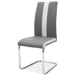 Jídelní čalouněná židle H-200 tmavá šedá
