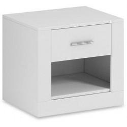 Noční stolek ARTI 07 bílá
