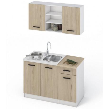 Kuchyně JANA 120 dub sonoma/bílá