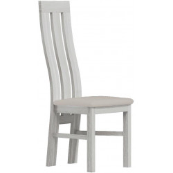 Čalouněná židle PARIS bílá/Victoria 20