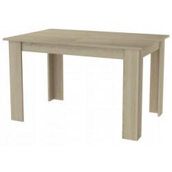 Jídelní stůl rozkládací KONGO 120(170)x80 sonoma