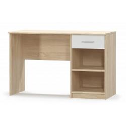 Psací stůl TIPS dub sonoma/bílá mat