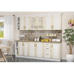 Kuchyně IMPERIA 240 s D80 bílá/zlatá