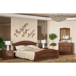 Sestava do ložnice MILANO třešeň (postel 160, 2x NS, komoda 4S)