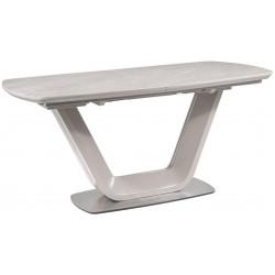 Jídelní stůl rozkládací 160x90 ARMANI ceramic šedá