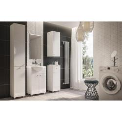 Koupelnová sestava ALIM bílá lesk