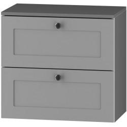 DUM 60 S/2 skříňka pod umyvadlo STRADONE šedá mat