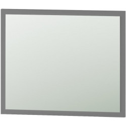 Zrcadlo 60 STRADONE šedá mat