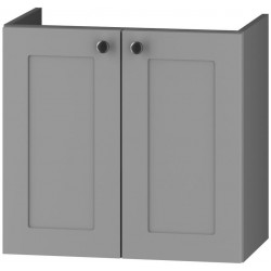 DUM VEA 64 S/2 skříňka pod umyvadlo STRADONE šedá mat