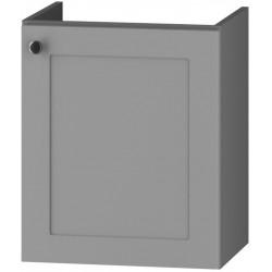 DUM VEA 49 S/2 skříňka pod umyvadlo STRADONE šedá mat