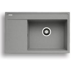 Pyragranitový dřez CAMEA 1B 1D RH (79x50) grey