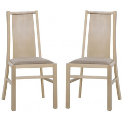 Jídelní čalouněná židle VOLANO 121 (2ks) sonoma