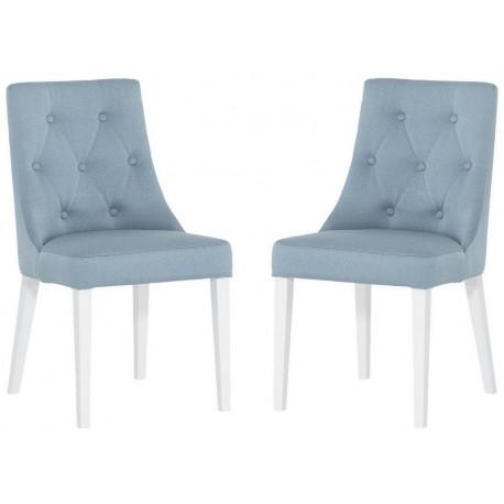 Jídelní čalouněná židle MEDE (2ks) Novel výběr barev