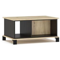 Konferenční stolek BUCKET dub artisan/wenge
