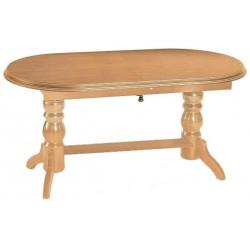 Jídelní/konferenční stůl DANIEL rozkládací barva olše