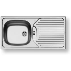 Nerezový dřez vestavný BASIC CA1, satin