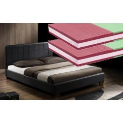 *Postel NEXUS 160x200 cm + 2 ks matrace NATURA 1A